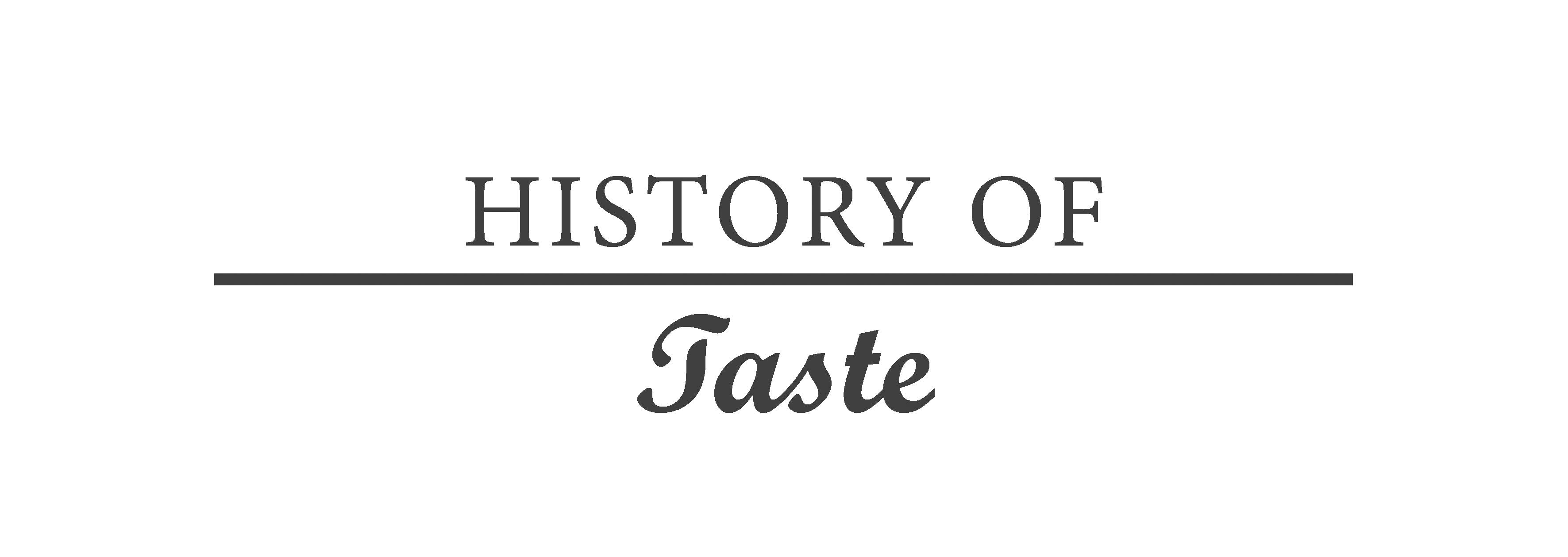 historyoftaste