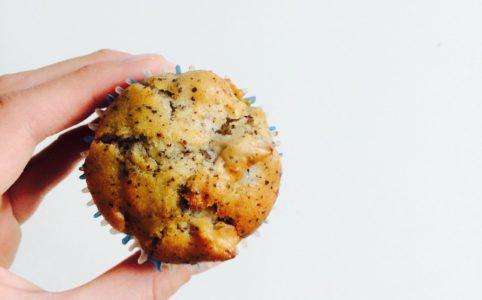 Vegane Apfel-Mohn-Muffins
