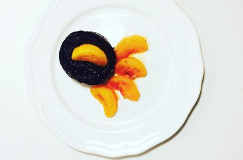 Lebkuchen-Küchlein mit beschwipsten Mandarinen