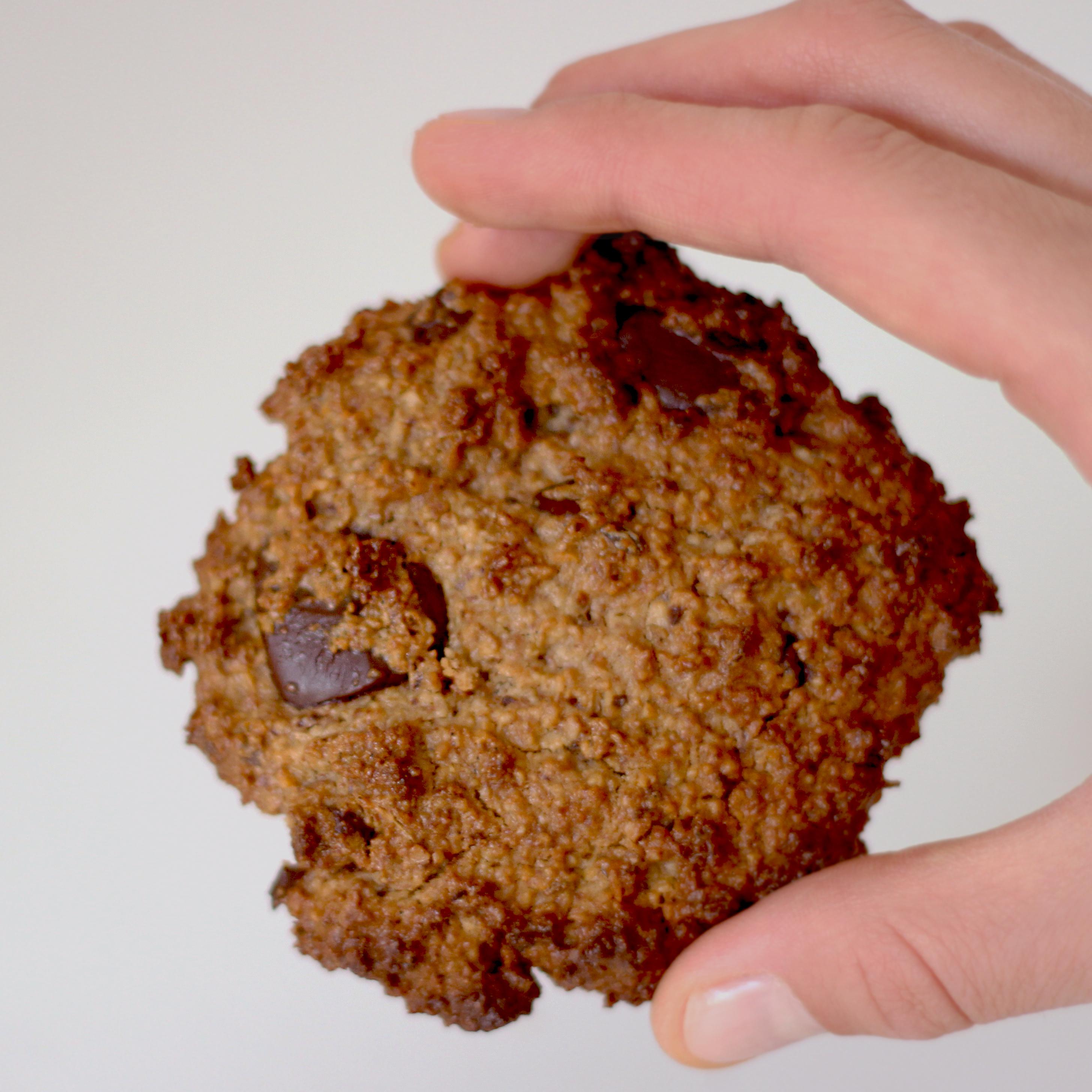 Rezept für vegane, glutenfreie, Schoko-Chip-Cookies